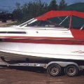 Boat cover - Dodger, Bimini with camper back