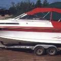 Boat cover - Dodger, Bimini with camper back
