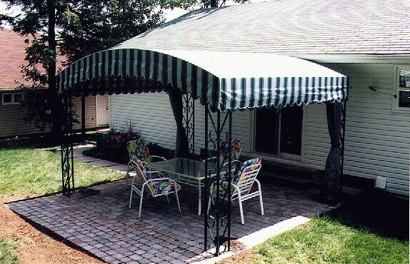Heat Pump Canopy : Canopies terraces able canvas