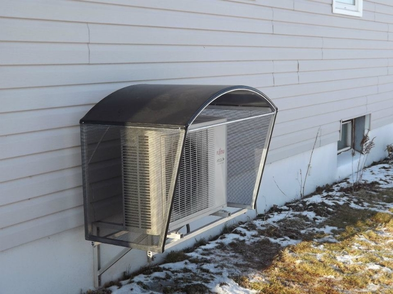 Heat Pump Shelters : Heat pump shelters able canvas