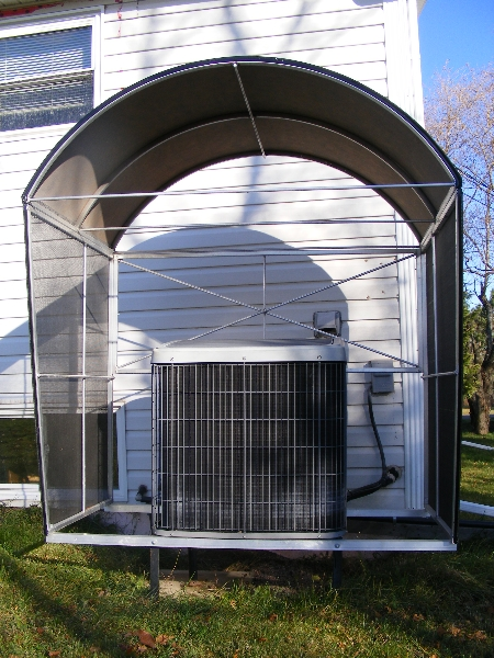 Heat Pump Shelters Able Canvas