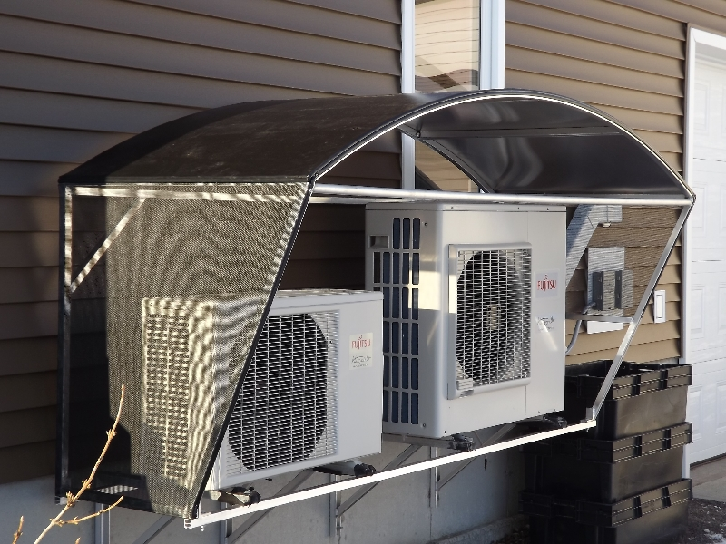 Heat Pump Shelter Able Canvas