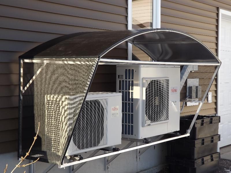 Heat Pump Shelter Able Canvas